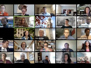 The Campus and Community Advisory Committee meets over Zoom on Tuesday, Sept. 29, 2020 to discuss scheduling options for the upcoming spring semester and student concerns regarding communication from the University .