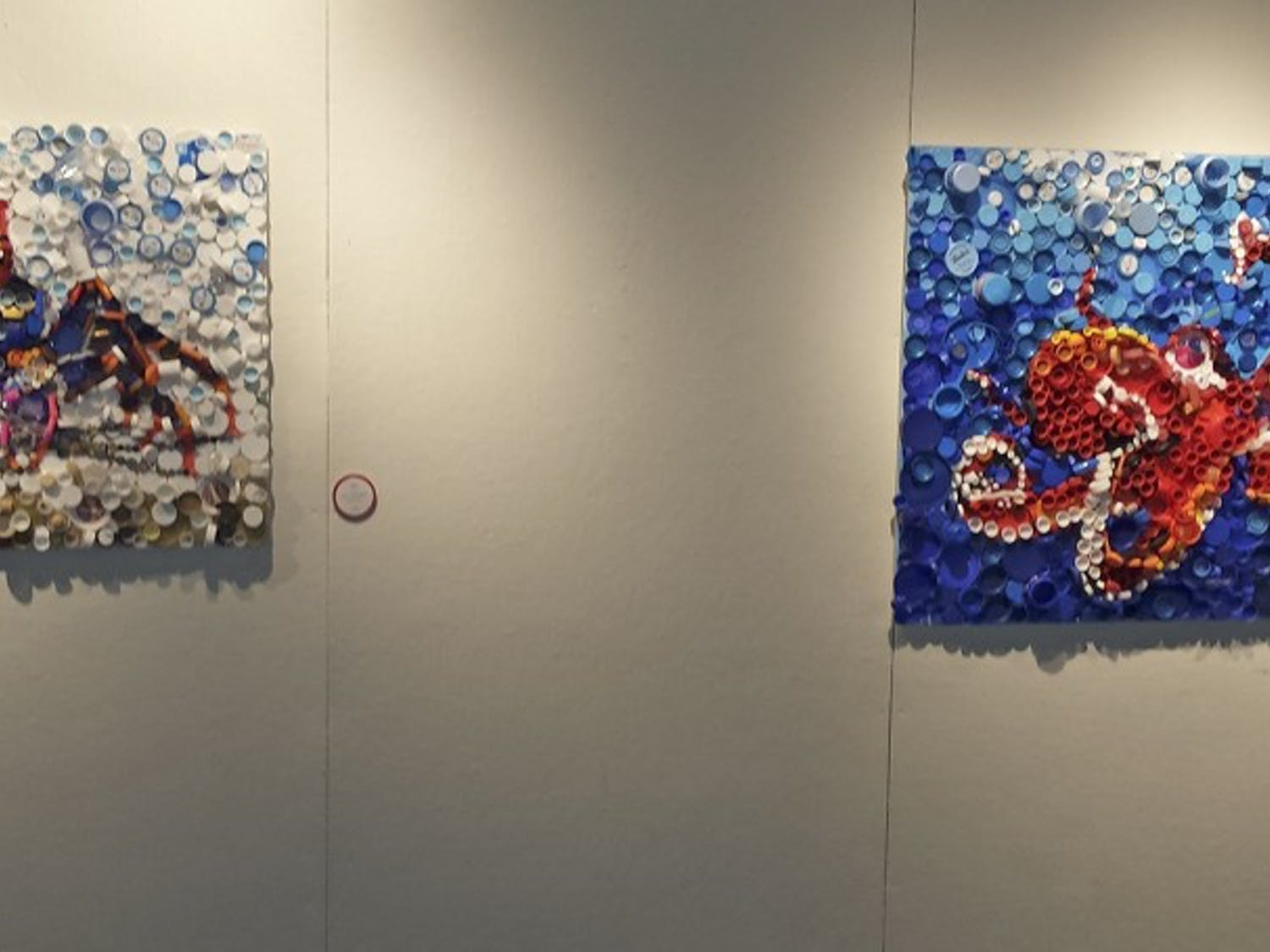 The Beauty through Toxicity art exhibit is currently on display in the Union.