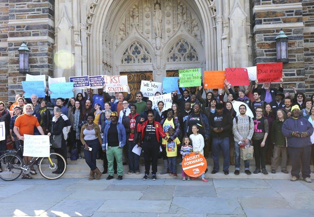 Duke non-tenure faculty vote to unionize