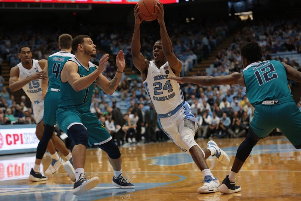 'I told them we sucked': UNC bounces back from slow first half in blowout win