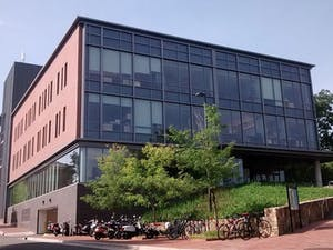DTH File Photo. The FedEx Global Education Center is located at 301 Pittsboro St on the UNC-Chapel Hill campus.