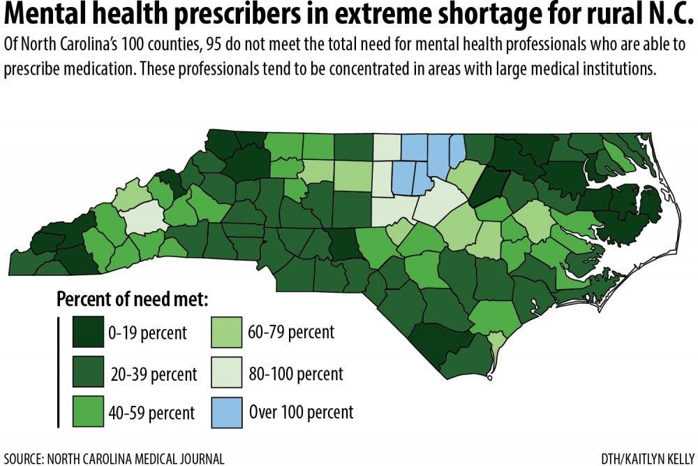 North Carolinians seeking mental health care might encounter problems