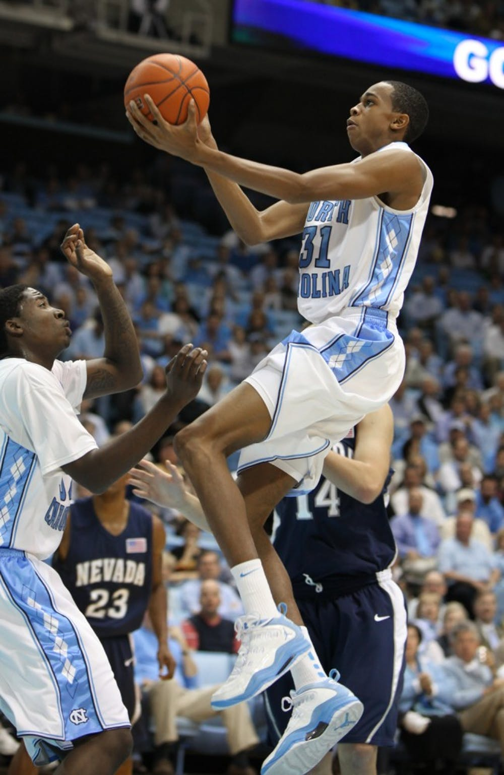 NIT loosens up Tar Heels
