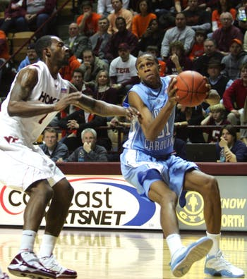 Sophomore John Henson bulked up after a season of disappointment for UNC and has found a place tied as the team's second-leading scorer with freshman Harrison Barnes. The big man is averaging 11.4 points and 10.5 rebounds this year and giving Tar Heel fans hope for a stronger season.