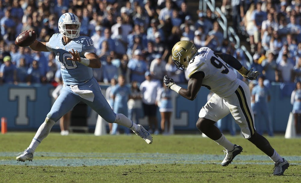cef7a8ecad0 Jeanne Trubisky opens up about son Mitchell's NFL Draft process, decision  to leave UNC football