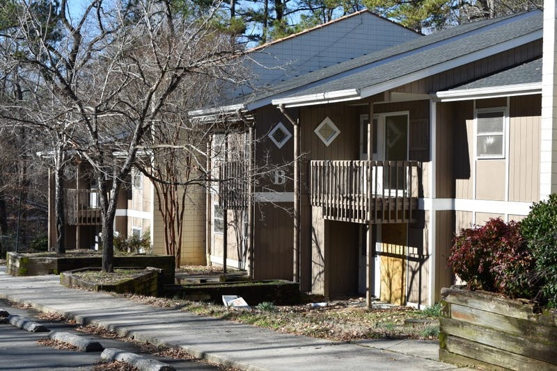 Trinity Court on North Columbia Street is the first in Chapel Hill to plan to implement the RAD program. Currently, all 40 units in Trinity court are vacant due to structural damage.