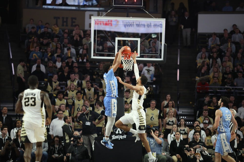 Cameron Johnson named to All-ACC first team, White, Maye receive second team honors