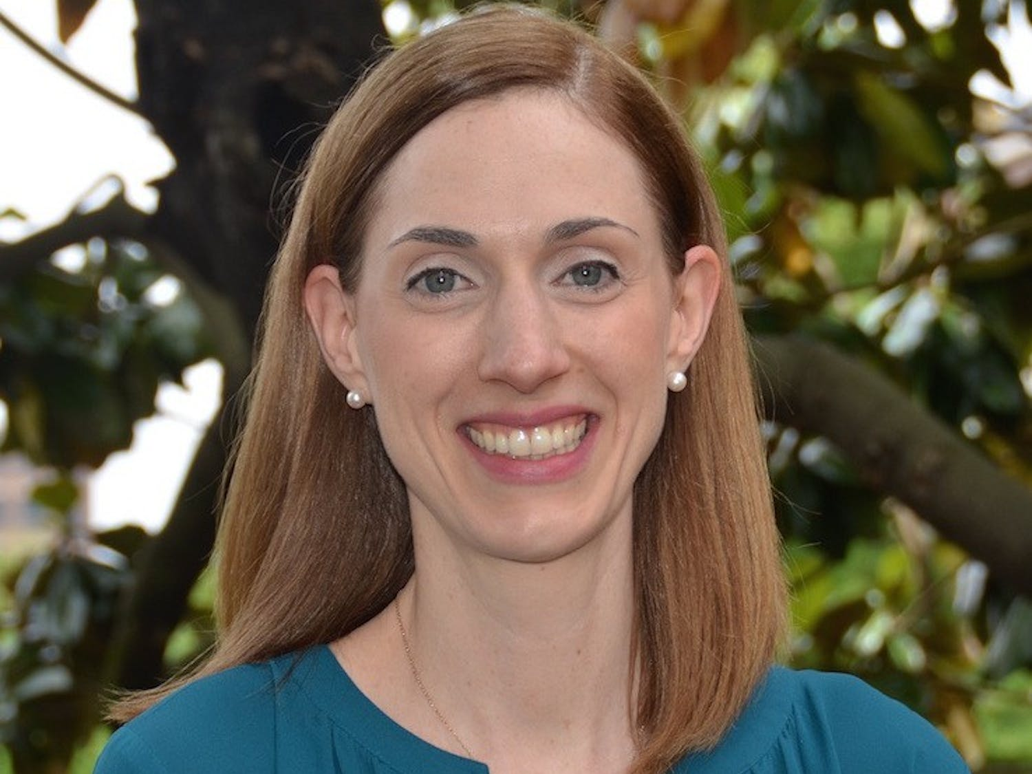 Dr. Becky Naumann, assistant professor of epidemiology and core faculty member of the Injury Prevention Research Center, led a project about opioid research. Photo courtesy of Becky Naumann.