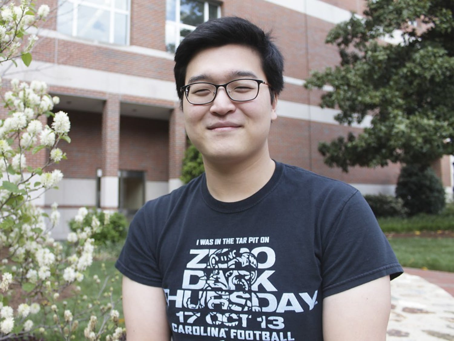 UNC senior Joseph Han, a former beauty consultant, travels the world spending weekends abroad in places like the Philippines.