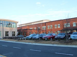 Moseley Architects is winning an award for their design of Northside Elementary School in Chapel Hill. Northside Elementary on Wednesday morning. North Carolina School Boards Association's Award for Excellence in Architectural Design