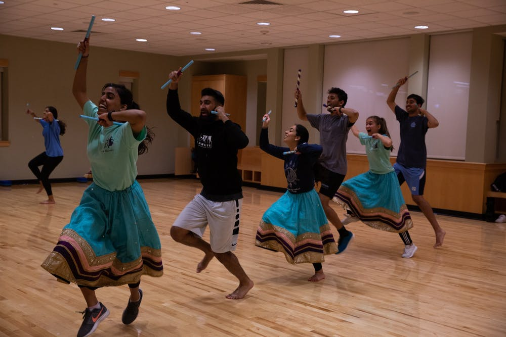 UNC's vibrant culture of Indian dance comes to life in spring competition season