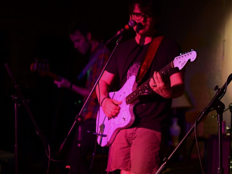 Estrangers performs live at the 2014 Phuzz Phest in Winston-Salem.