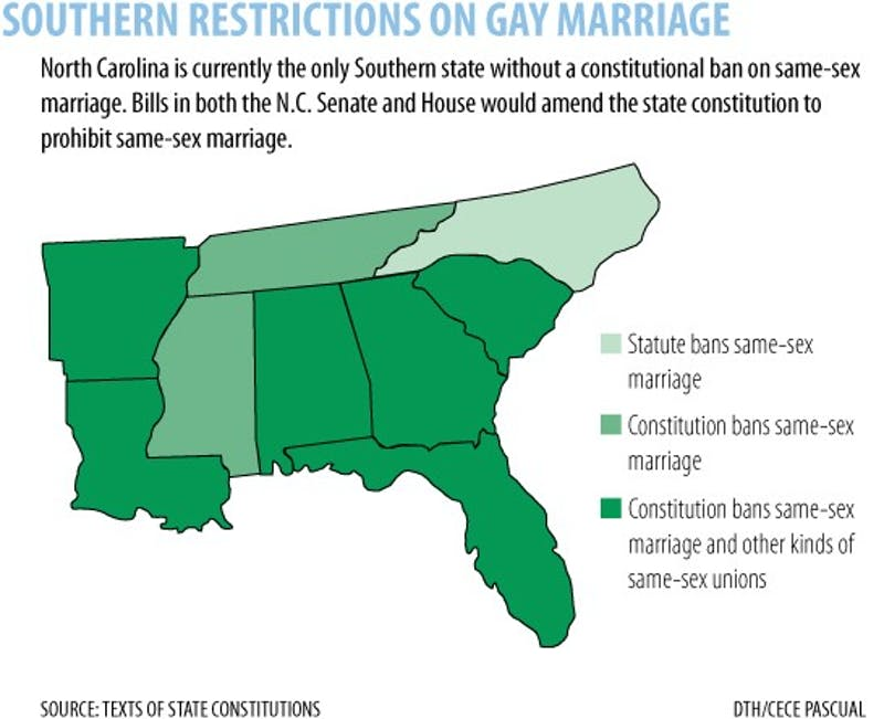 Graphic: New bills in state legislature seek to constitutionally define marriage (Cece Pascual)