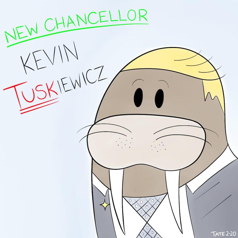 Cartoon: 'Kevin Tuskiewicz'