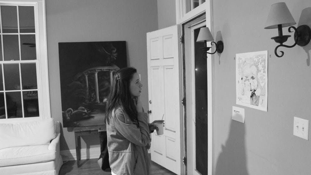 Student-run art show explores the value of trust