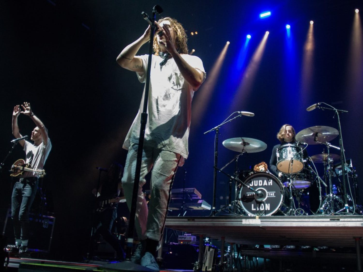 Twenty One Pilots and openers Judah and the Lion and Jon Bellion at Greensboro Coliseum Complex, Feb. 25, 2017.