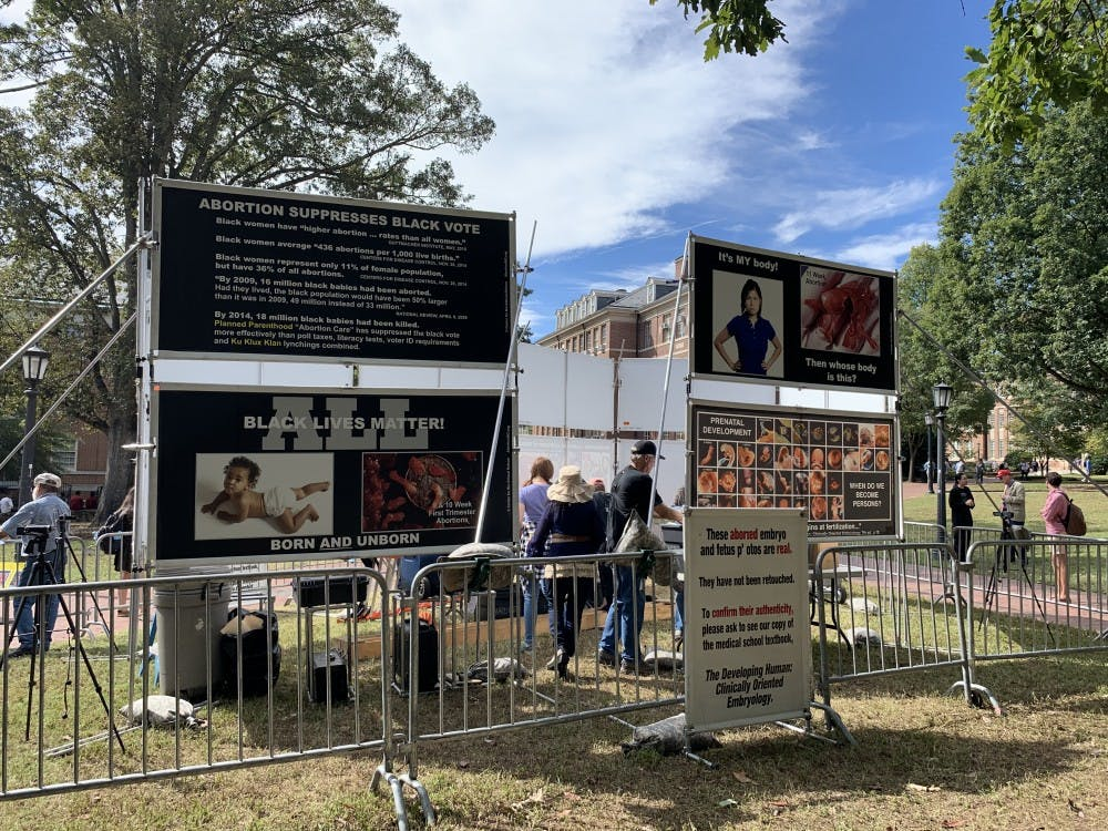 Editorial: Anti-abortion display is triggering for students
