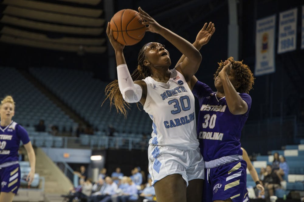 Bailey honors injured teammate in UNC women's basketball's season-opening WCU win