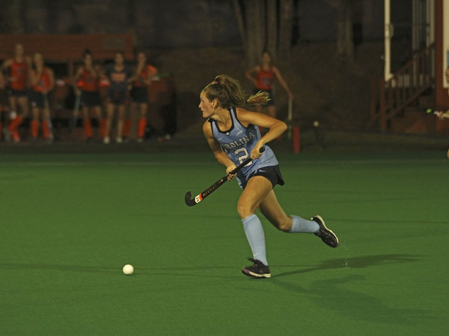 The No. 5 UNC field hockey team defeated No. 1 Syracuse on Friday.