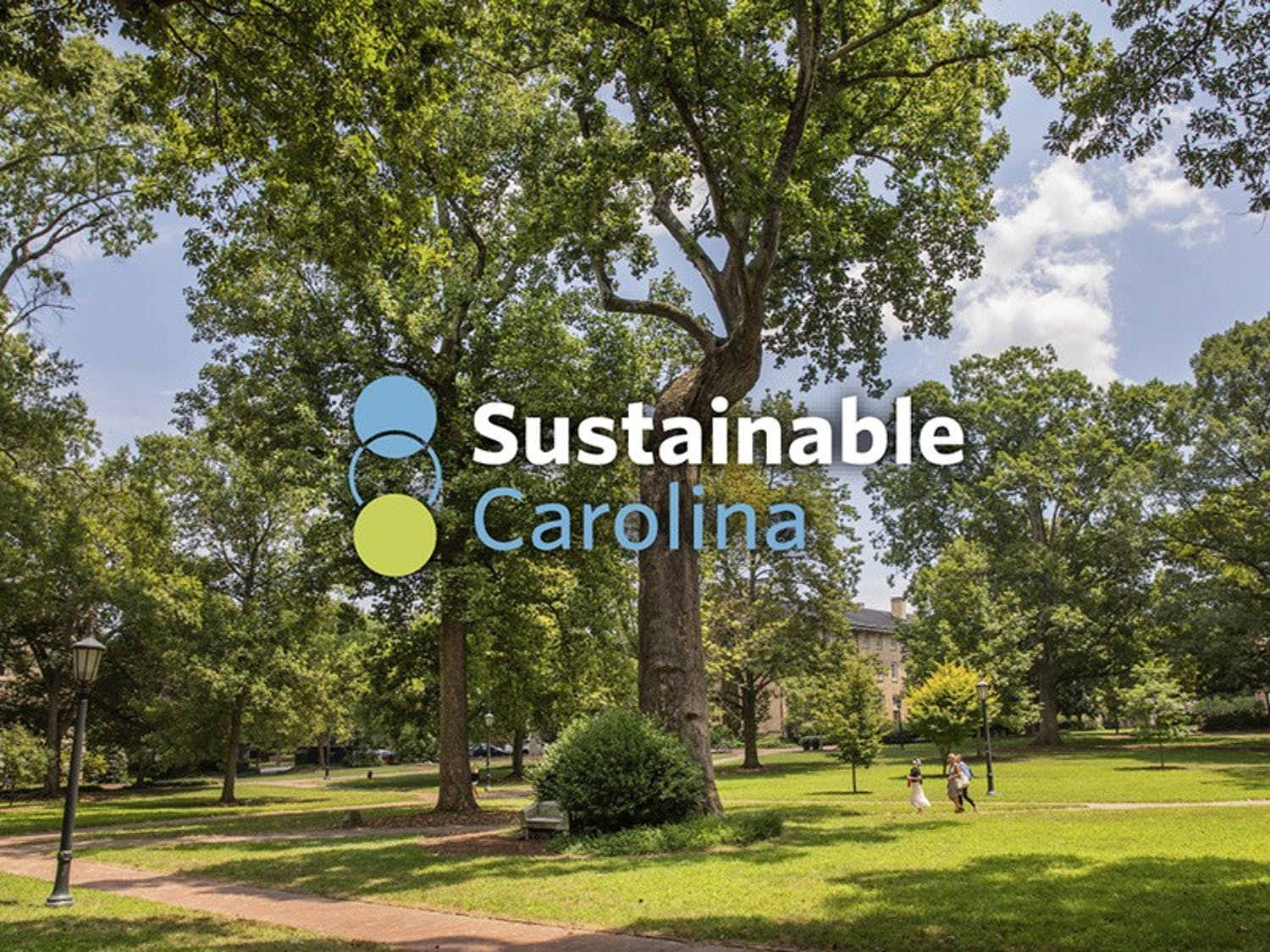 UNC is partnering with champion and HanesBrand as part of its sustainability initiatives. (Johnny Andrews/UNC-Chapel Hill)
