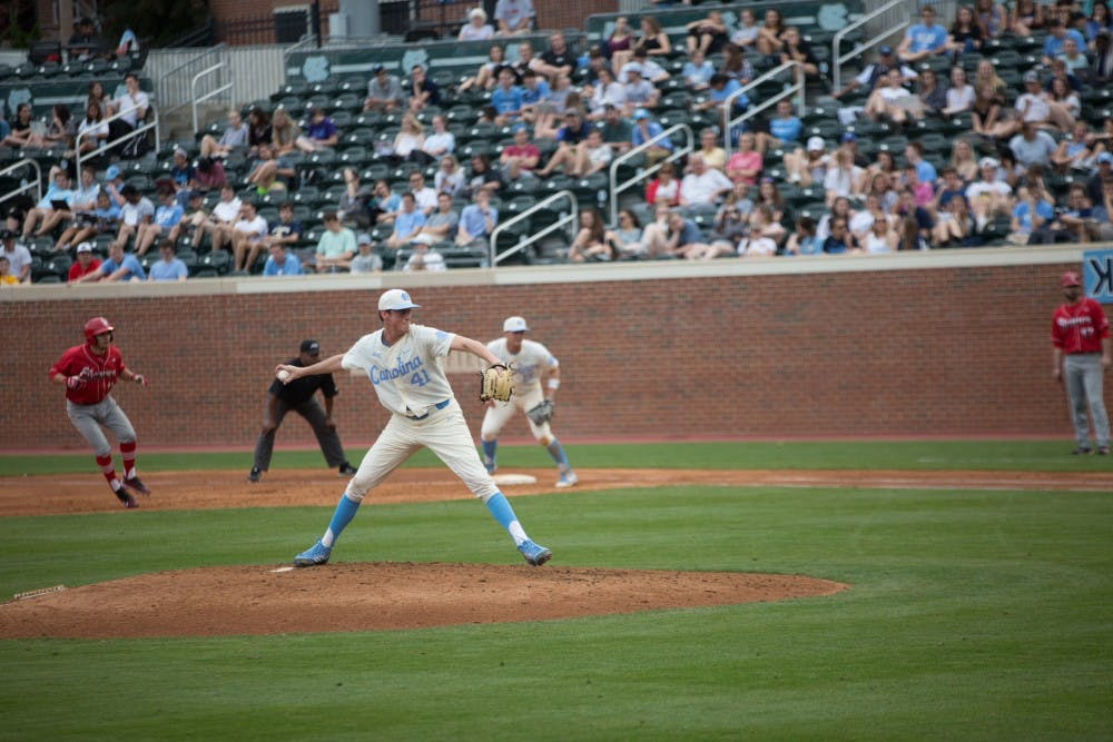 UNC's bullpen excels, but bats cannot heat up in 1-0 home loss against Gardner Webb