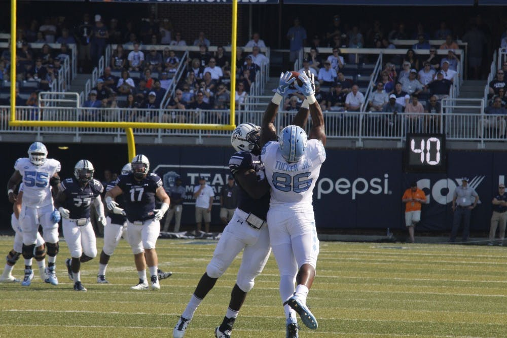 North Carolina lives up to expectations in 53-23 win over Old Dominion