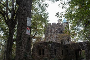 "Senior Molly Horak reports having heard ""'Phantom of the Opera' kind of music"" at an empty Gimghoul Castle. The Castle was built in the 1920s and is a local legend."