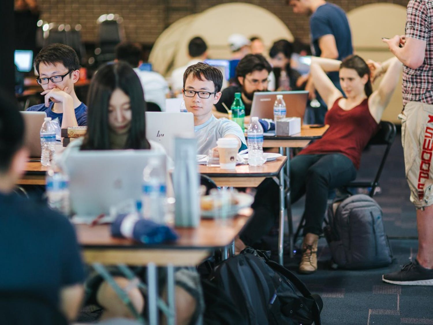 UNC and Duke students competed in a Datathon on Friday. Photo courtesy of Houa Vang.