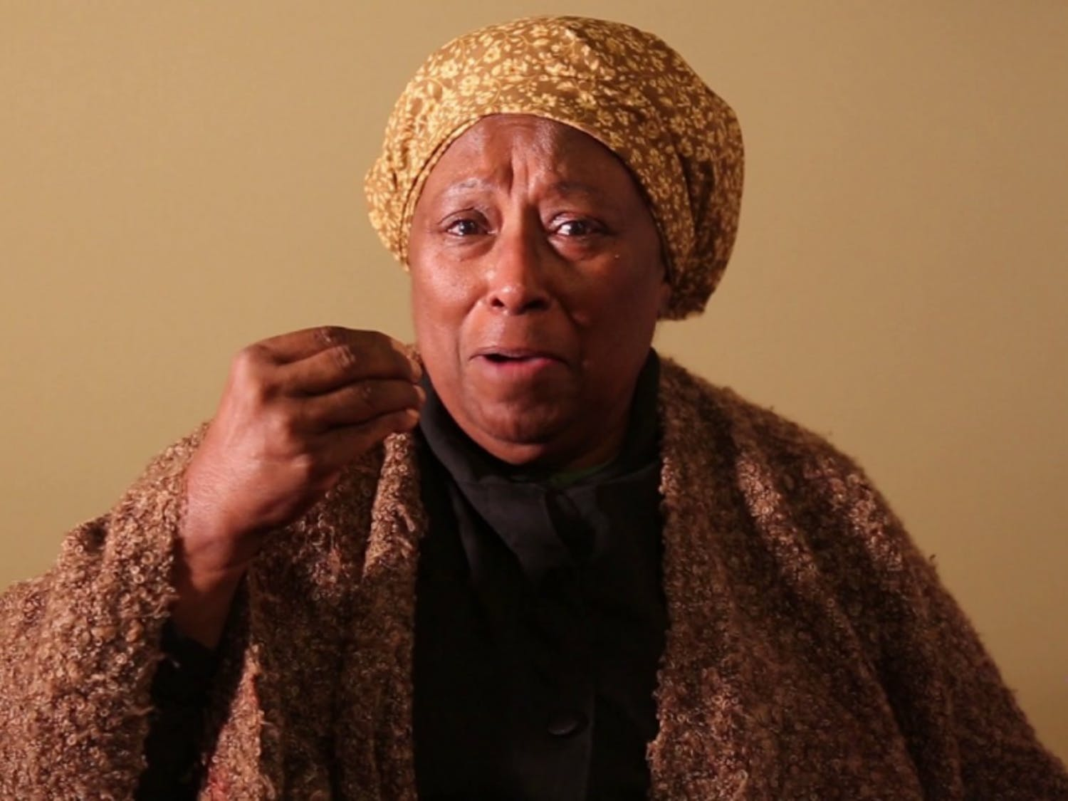 Diane Faison is an activist and artist. Courtesy of Christopher Hall.