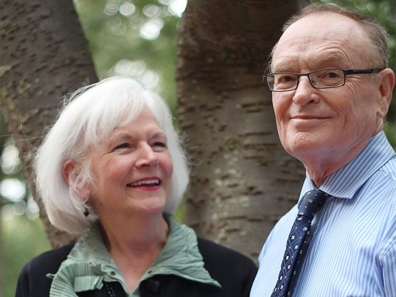 Shirley Ort and Fred Clark are the founders and directors of the Carolina Covenant financial aid program. Ort is in charge of the university's financial aid department and Clark is a professor who has been teaching here for 47 years (teaches classes on Brazilian studies).The Carolina Covenant program was founded ten years ago and is a need-based program that covers all school-related costs for the students it serves, including the cost of living. It has improved UNC's diversity and has served as a model for other financial aid programs around the country (however, Shirley pointed out that ours has been the most successful because many other schools who have tried it have dropped the program because it is so expensive).