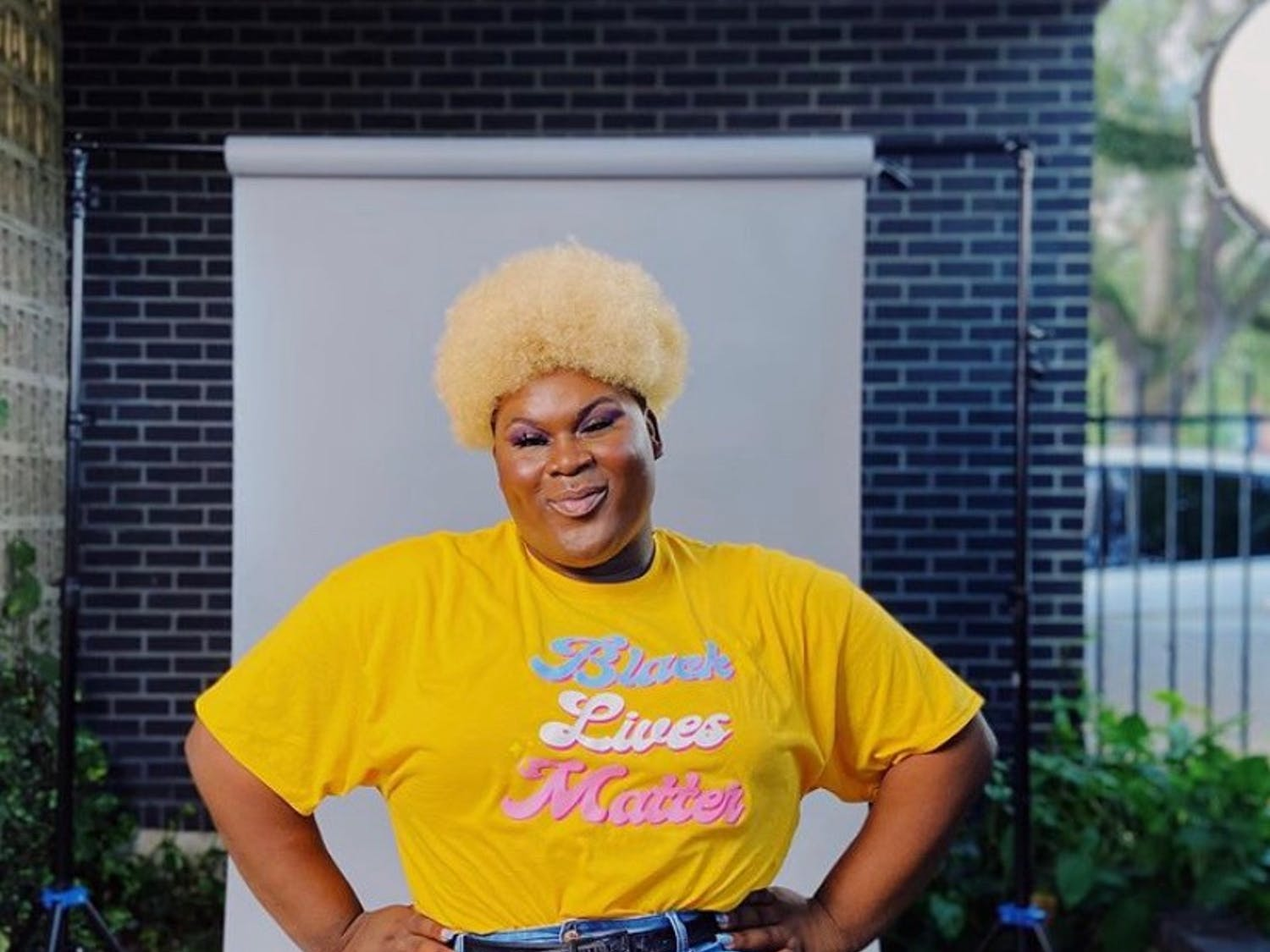 """A portrait of Sis, creator of """"Our Offering,"""" a virtual play benefiting The Next Generation Project, which helps provide resources to Black and brown trans folks. Photo courtesy of Sis."""