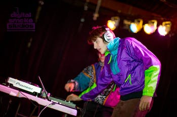 WXYC's semi-annual 2000s dance is Friday at Cat's Cradle. Photo courtesy of Digital Smoke Studios.
