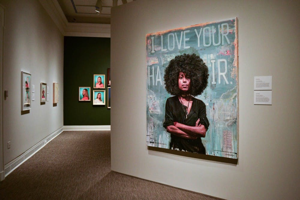 Come see the work of Michelle Obama's official portraitist and more at the Ackland