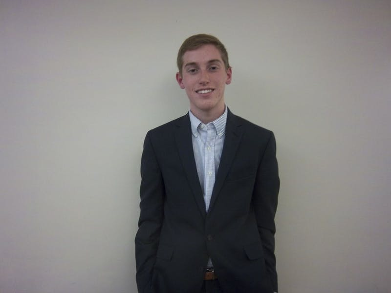 Sophomore Mathew Fedder is the Carolina Fever public relations director.