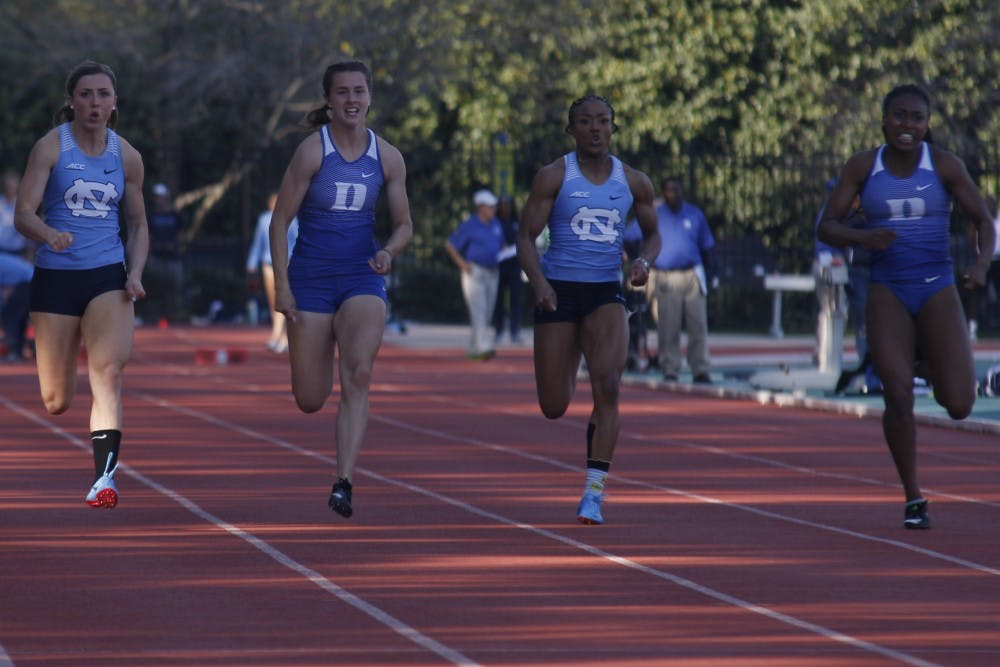 UNC track and field in action at Aggie Invitational and Hurricane Alumni Invitational
