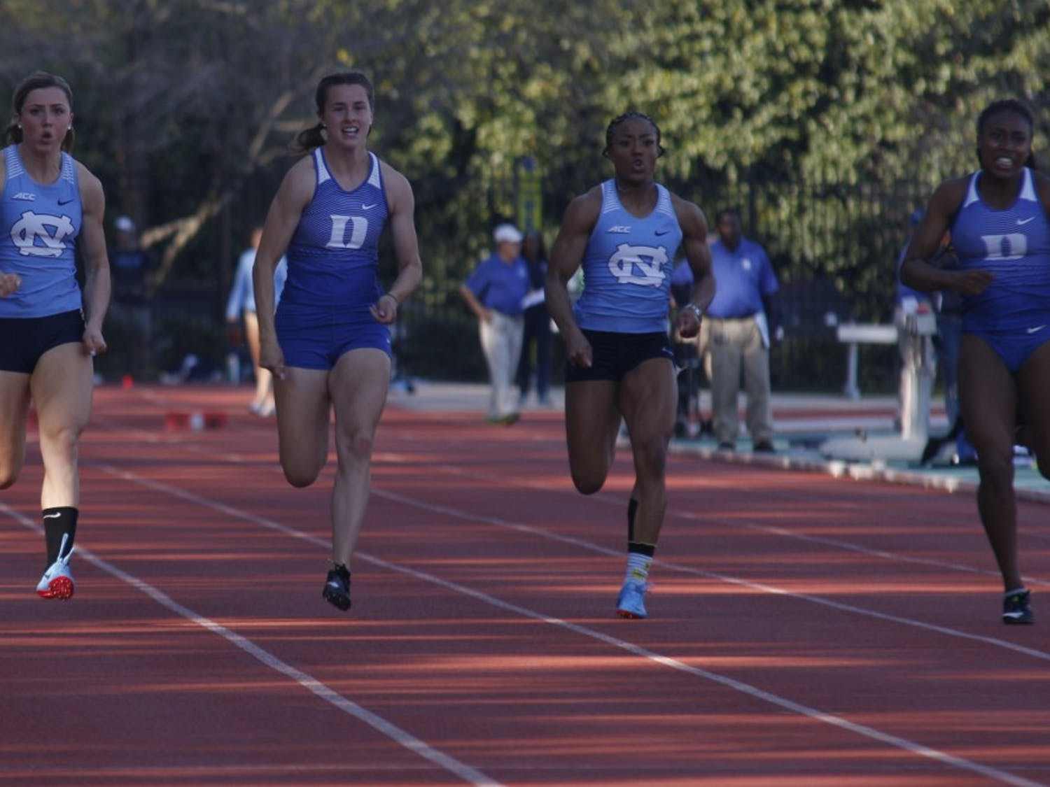The UNC track and field team competed against Duke on Saturday, April 6, 2019, at Duke University.