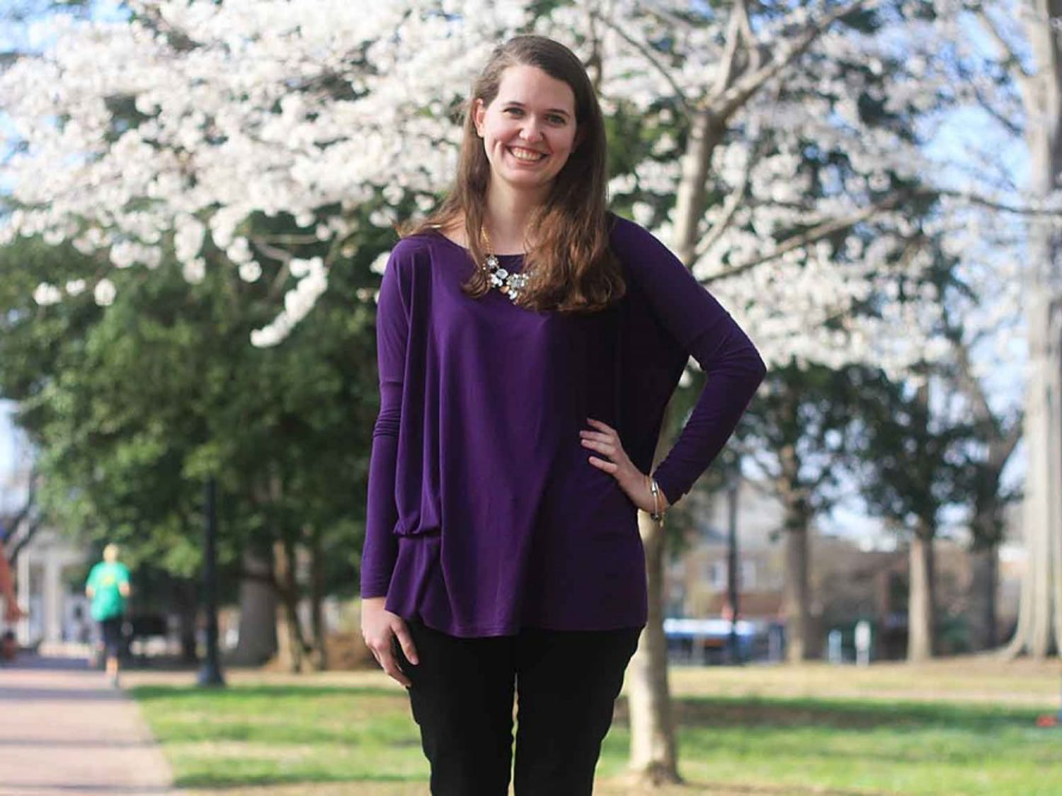 Paige Ladisic and bradley Saacks are running for The Daily Tar Heel's 2015-2016 Editor in Chief.