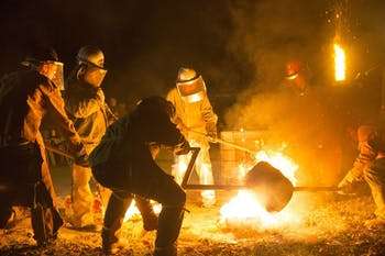 On Saturday, Nov. 16, 2019, Durham Central Park and Liberty Arts Studios & Foundry will host The 4th Annual Iron Pour from 4 p.m. to 9 p.m. Photo courtesy of Evie G. Watts.