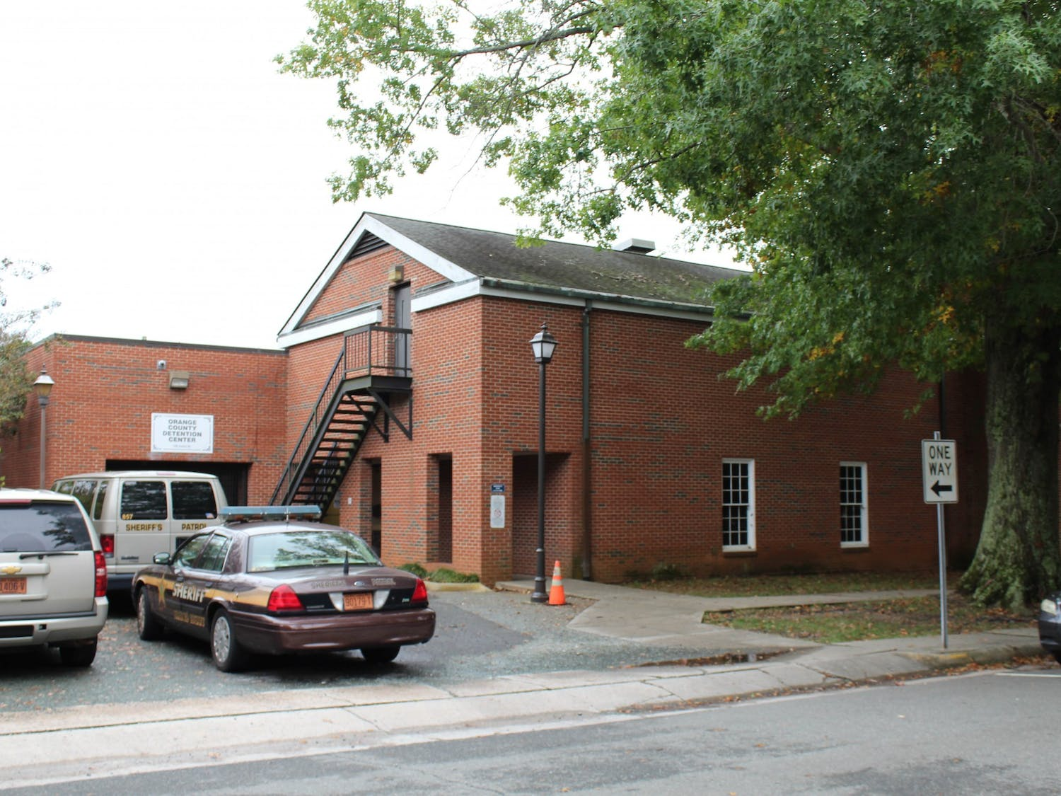 The Orange County Detention Center in Hillsborough, NC, pictured on Oct. 10.