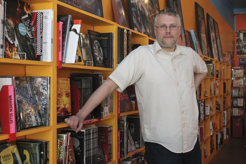 Andrew Neal, longtime owner of Chapel Hill Comics on Franklin St, is selling the store to Ryan Kulikowki.