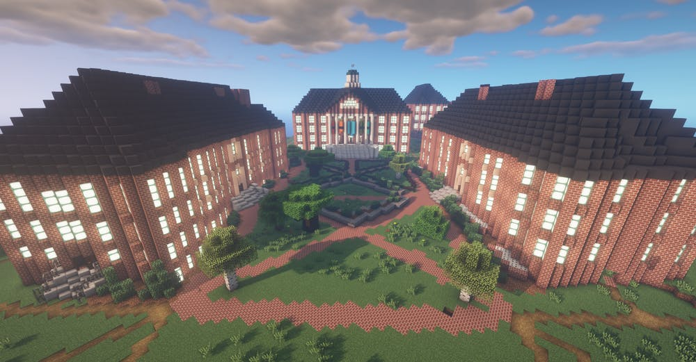 'A little slice of that nostalgia': UNC student recreates campus on Minecraft