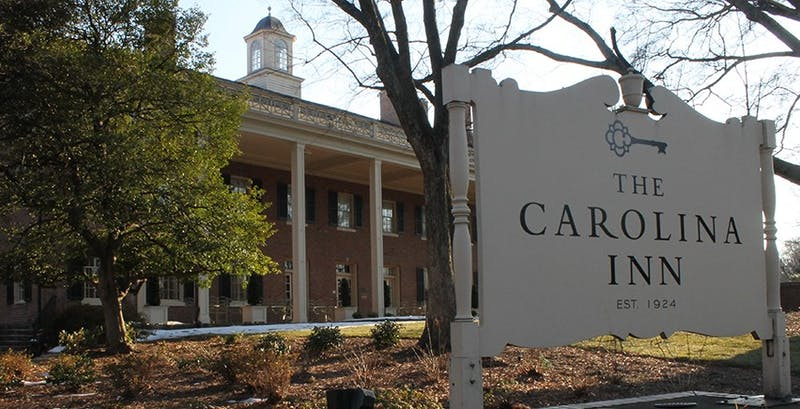 Popular hotels in the Chapel Hill area like the Carolina Inn and Franklin Hotel are booked to capacity for the rescheduled UNC vs Carolina basketball game on Thursday, February 20, 2014. Ticket holders face long wait lists and hotel referrals.