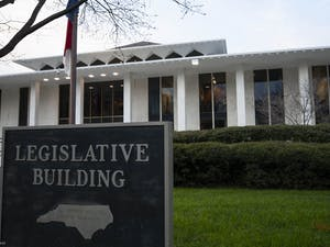 The North Carolina General Assembly building in Raleigh, N.C. on Jan. 29, 2020.