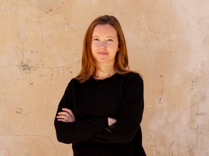 Emila Sutton poses for a portrait in Durham on Sunday, Apr. 4, 2021. Sutton currently serves as Orange County's Director of Housing and Community Development.
