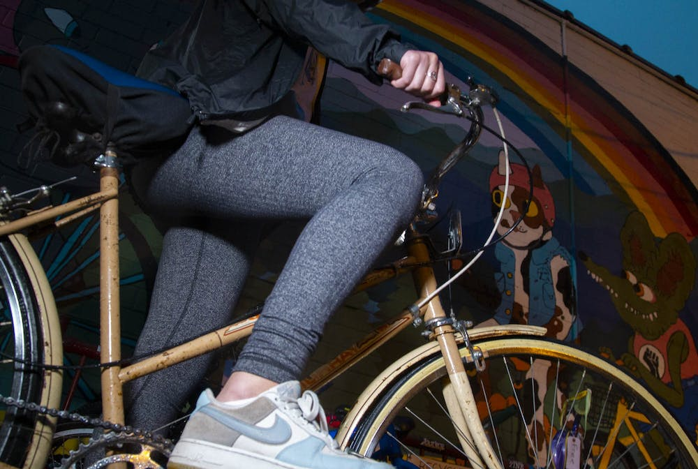 <p>DTH Photo Illustration. Events like Queer Ride Carrboro and WTF Mechanic Nights provide LGBTQIA+ community members of the Triangle area with the opportunity to make friends, foster support and find a sense of community through a mutual love for biking.</p>