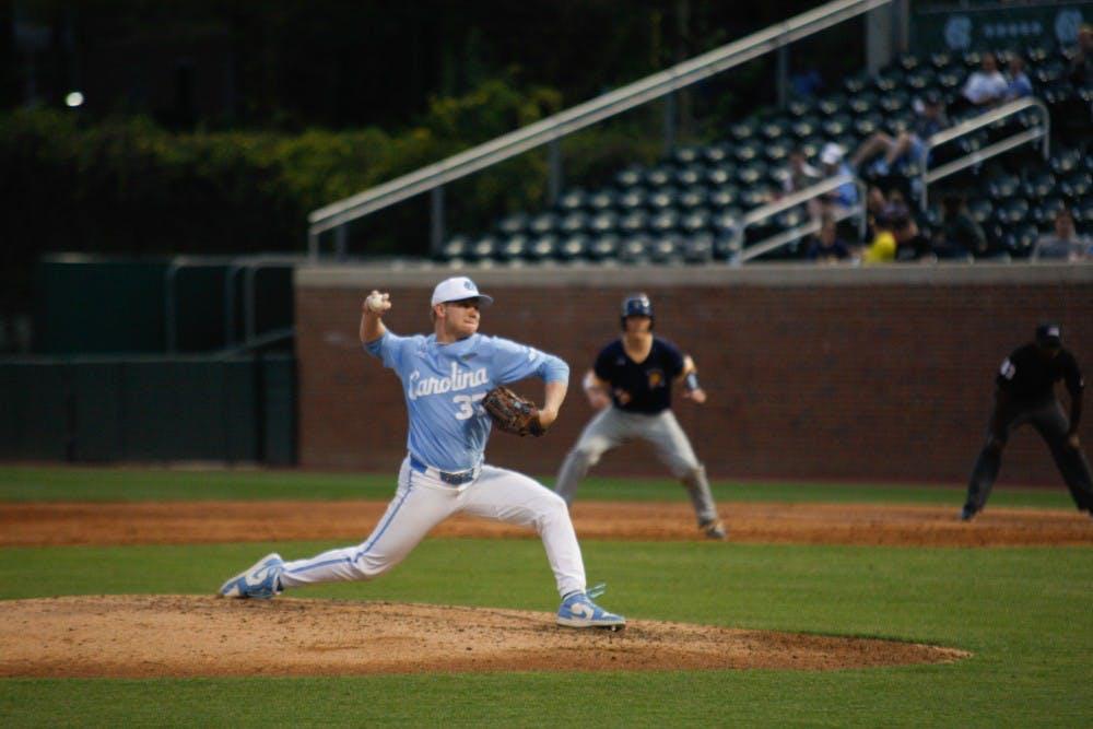Andrew Grogan, Ashton McGee power UNC baseball past Coastal Carolina