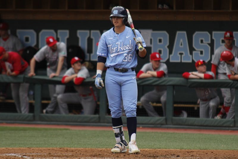 UNC Baseball faced St. John's on Wednesday afternoon.