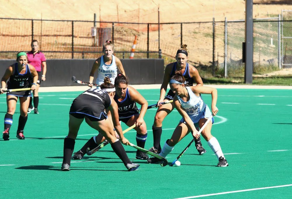 UNC field hockey plays disjointed in 3-0 loss to Duke