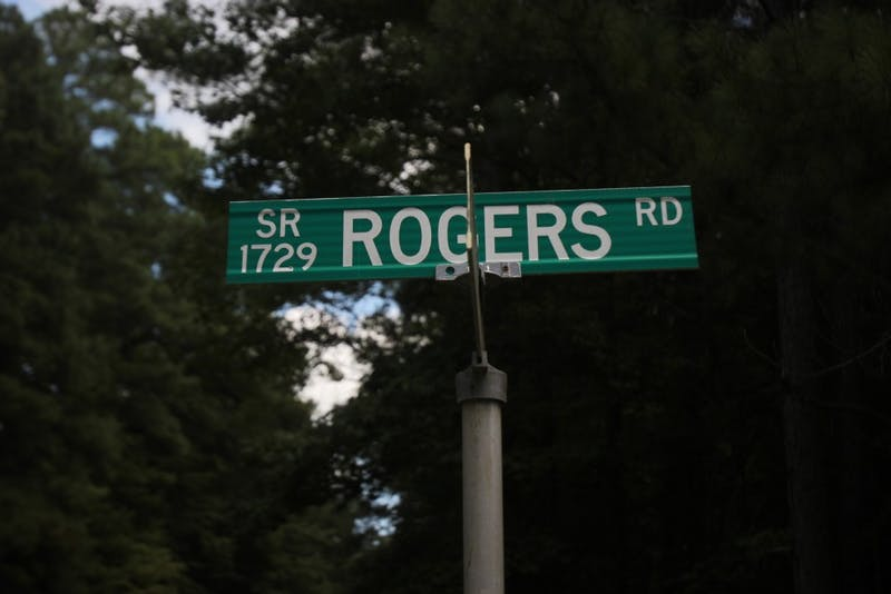 Rogers Road is a neighborhood off of Eubanks Road.