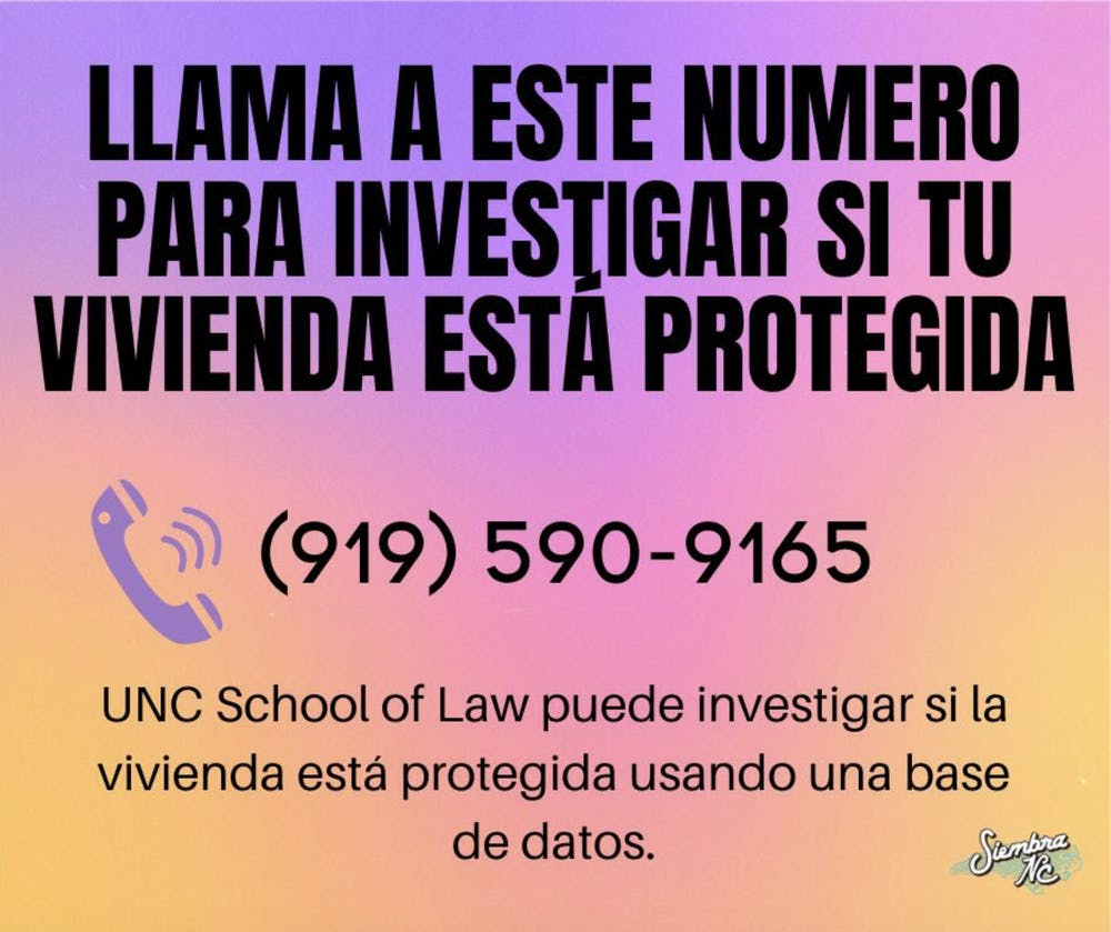 UNC's Civil Legal Assistance Clinic and immigrant advocacy group launch COVID-19 hotline